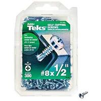 "Drill Point Screws, 8"" x 1/2"" 300 Pk"