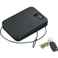Stack-On PC-95C Portable Case Key Lock With Combination Lock