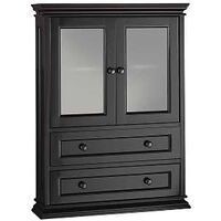 "Berkshire Assembled Wall Cabinet, 31"" Dark Expresso"