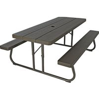 Lifetime 60110 Folding Picnic Table