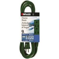 Coleman 0864 SJTW 3-Outlet Power Tap Extension Cord