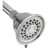 Wall Mount Shower Head, Brushed Nickel