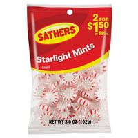 Sathers StarBrites Non-Chocolate Starlight Mints Candy