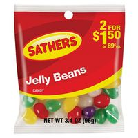 Sathers 10158 Non-Chocolate Jelly Bean Candy