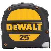 Dewalt Tape Measure, 1 1/4&quot; x 25&#39;