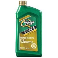 Quaker State Synthetic Motor Oil, 10W30