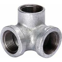 Galvanized Side Outlet Elbow, 1/2""