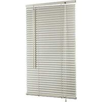 "Light Filtering Vinyl Mini Blind, 1"" x 27"" x 64"" White"