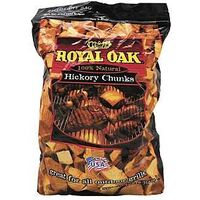 Royal Oak Hickory Chunks, 6Lb