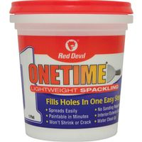 Red? Devil Onetime Lightweight Spackling Compound