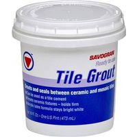 Savogran 12861 Pre-Mixed Ready-To-Use Tile Grout?