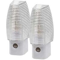 Faceted Automatic Night Light, 2 Pk
