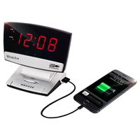 Westclox 71014X Plasma Screen Alarm Clock