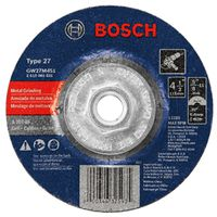 Bosch GW27M451 Type 27 Depressed Center Grinding Wheel