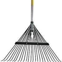 Deluxe Rake with Aluminum Handle, 48""