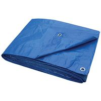 TARP ECONOMY UV BLUE 5X7FT