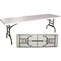 TABLE BANQUET W/FOLDNG LET 8FT