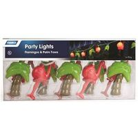LIGHTS PARTY PALM/FLAMINGO