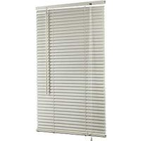 "Vinyl Mini Blind, 30"" x 64"" Alabaster"