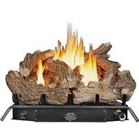 Dual Fuel Gas Logs with Thermostat, 24""