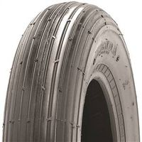 Martin Wheel 406-2LW-I Ribbed Tubeless Wheelbarrow Tire