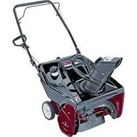Yard Machine Single Stage Snow Thrower, 21""