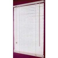 """Faux Wood Blinds, 23""""W x 42""""H White"""