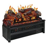 LOG ELECTRIC SET W/HEATER