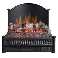 ELECTRIC FIREPLACE INSERT W/HT