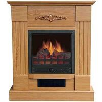 ELECTRIC FIREPLACE 32IN OAK