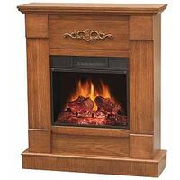ELECTRIC FIREPLACE 32IN VINTAGE OAK