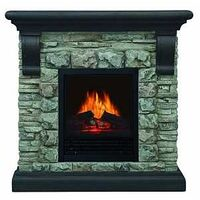 ELECTRIC FIREPLACE GRAY 40IN