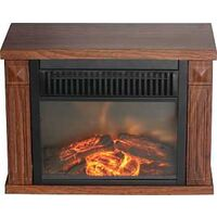 FIREPLACE ELEC MINI HRTH WD GR