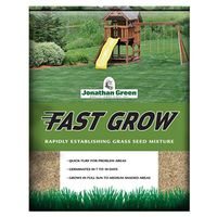 Jonathan 10820 Fast Grow Grass Seed, 3 lb, 1500 sq-ft