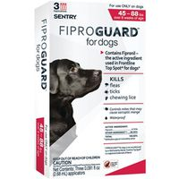 Sentry 02952 Fiproguard Flea and Tick Squeeze-On
