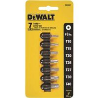 Dewalt DW2067 Screwdriver Bit Set