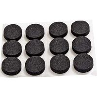 Rubber Foam Pads Black, 3/4""