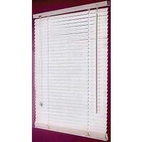 "Faux Wood Blinds, 47""W x 64""H"