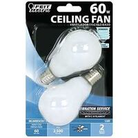 Intermediate White Fan Bulb, 60W