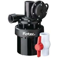 Flotec Automatic Utility Sink Pump, 1/8 Hp