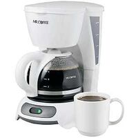 Coffee Maker, 4 Cup White