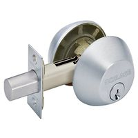 2-CYLINDR DEADBOLT K4 S CHROME