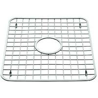 "Stainless Steel Sink Grid with Hole, 12 3/4"" x 11"""