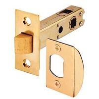 Passage Door Spring Latch, Brass