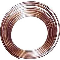 "Refrigeration Copper Tubing, 3/8"" O.D. x 50'"