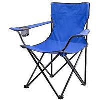Camping Chair with Bag, Blue