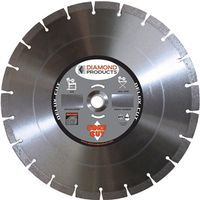 Diamond Products 70495 Segmented Rim Circular Saw Blade