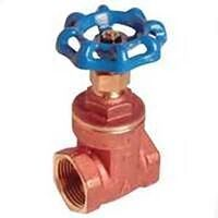 Low Lead Brass Gate Valve, 1/2""