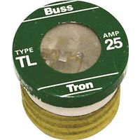 Bussmann TL-25 Low Voltage Time Delay Plug Fuse