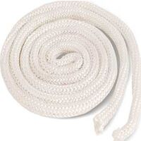 "WHITE FIBERGLASS ROPE ONLY 5/8"" x 6FT IMP"